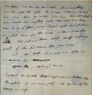 拿破仑写于流放期间英文书信拍出32万欧元 艺