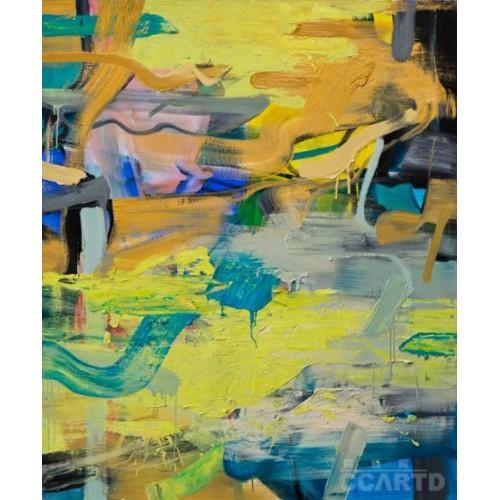 二是在抽象表现主义和极简主义之后,抽象艺术何为?